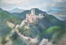 Burgruine bei Carpineti Italien